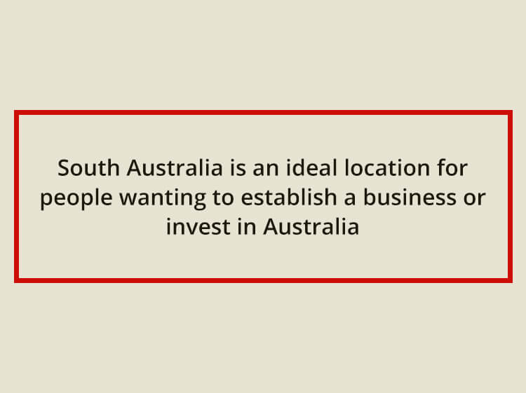 South Australia – still open for business